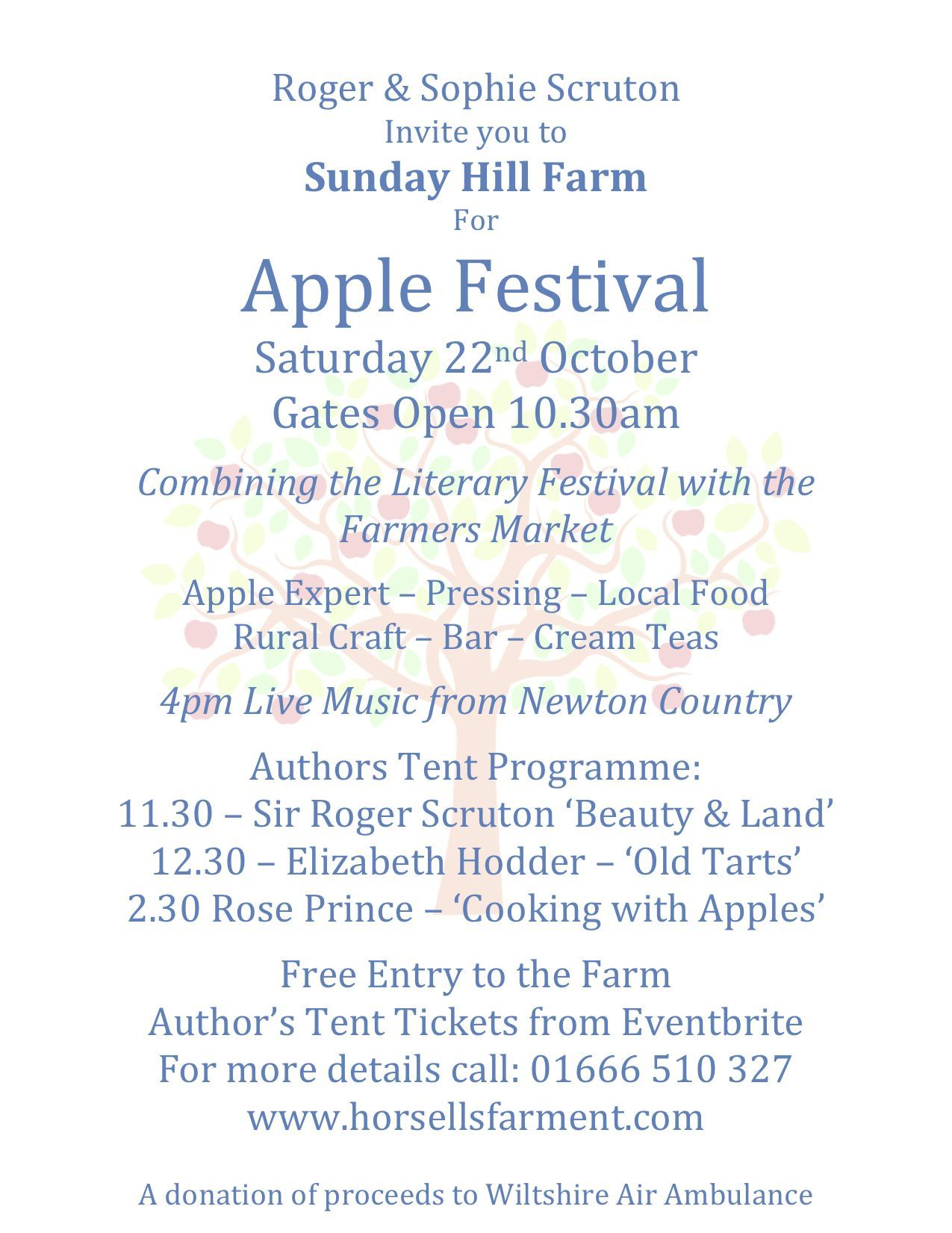 Apple Festival Invitation